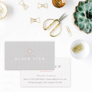 Business cards 5 10pt Linen business card Gotopress - Canada Printshop