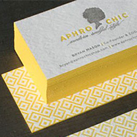 What is Letterpress Business cards and Process 1 Letterpress img 4 Gotopress - Canada Printshop