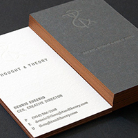 What is Letterpress Business cards and Process 2 Letterpress img 5 Gotopress - Canada Printshop