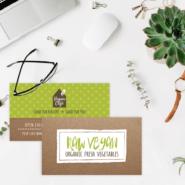 Business cards 8 14pt Brown Kraft Business Cards Gotopress - Canada Printshop