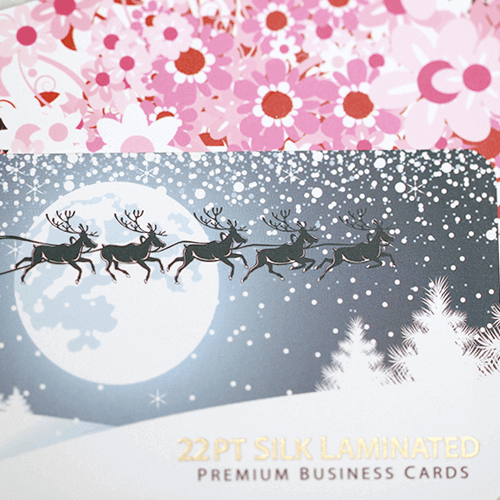 22pt Silk Laminated Business Card 3 22pt Silk Laminated Business Card gallery2 Gotopress - Canada Printshop