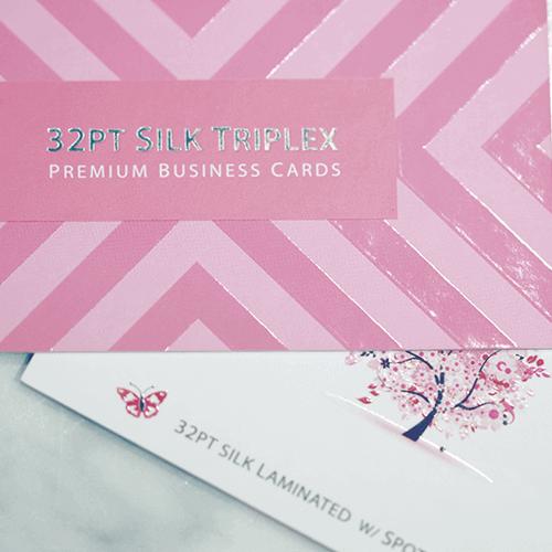 32pt Silk Triplex Premium Business Card 2 32pt Silk Matte Business Card gallery Gotopress - Canada Printshop