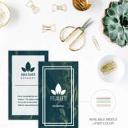Business cards 17 32pt Silk Triplex Premium Business Card Gotopress - Canada Printshop