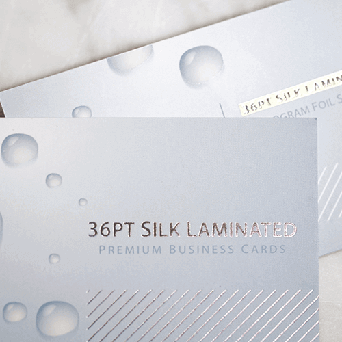 36pt Silk Laminated Business Card 2 36pt Silk Laminated Business Card gallery Gotopress - Canada Printshop