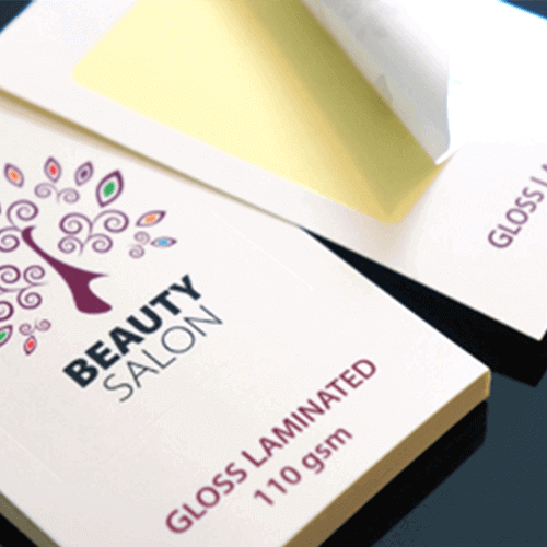 110gsm White Gloss Laminated Stickers Gotopress Printshop