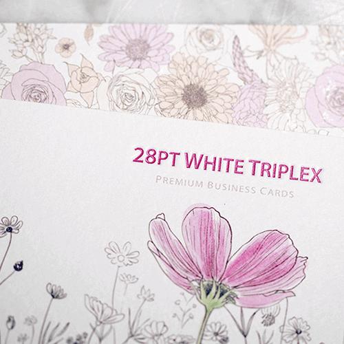28pt White Triplex Uncoated Business Card 1 28pt White Triplex Uncoated Business Card gallery Gotopress - Canada Printshop