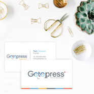 Business cards 15 32pt Premium Uncoated Business Card Gotopress - Canada Printshop