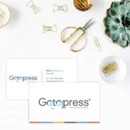 Business cards 7 32pt Premium Uncoated Business Card Gotopress - Canada Printshop