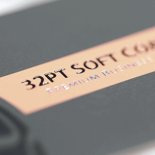 32pt Soft Touch Luxury Business Card 4 32pt Soft Coated Business Card gallery4 Gotopress - Canada Printshop