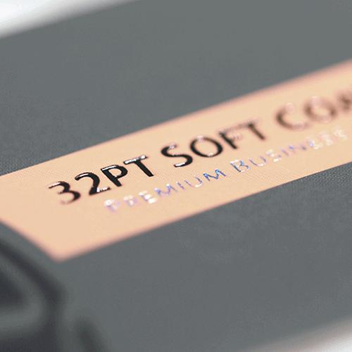 32pt soft coated business card colourmoves