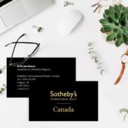 Business cards 19 34pt Black Premium Business Cards Gotopress - Canada Printshop