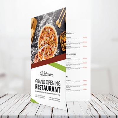 100lb - Text Half Fold Brochure 1 100lb Text Half Fold Bochure Gotopress - Canada Printshop