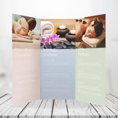 100lb - Text Tri-Fold Brochure 1 100lb Text Tri Fold Bochure Gotopress - Canada Printshop