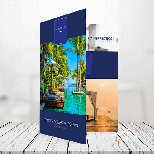 120lb - Text Half Fold Brochure 1 120lb Text Half Fold Bochure Gotopress - Canada Printshop