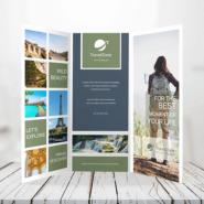 Brochures 6 120lb Text Tri Fold Bochure Gotopress - Canada Printshop