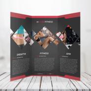 Brochures 7 60lb Text Tri Fold Bochure Gotopress - Canada Printshop