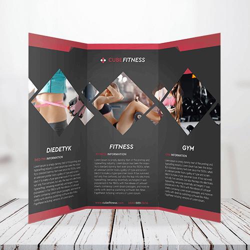 60lb - Text Tri-Fold Brochure 1 60lb Text Tri Fold Bochure Gotopress - Canada Printshop