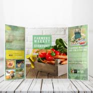 Brochures 12 80lb Text Gate Fold Bochure Gotopress - Canada Printshop