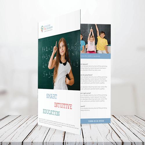80lb - Text Half Fold Brochure 1 80lb Text Half Fold Bochure Gotopress - Canada Printshop