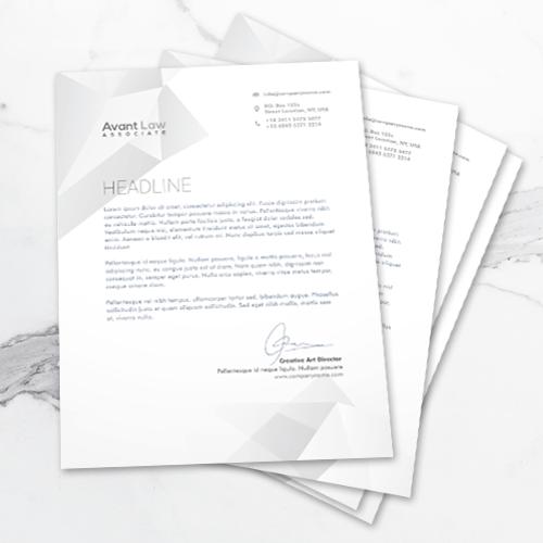120lb - Text Letterhead 2 8.5x11 120lb Letterhead 1 Gotopress - Canada Printshop