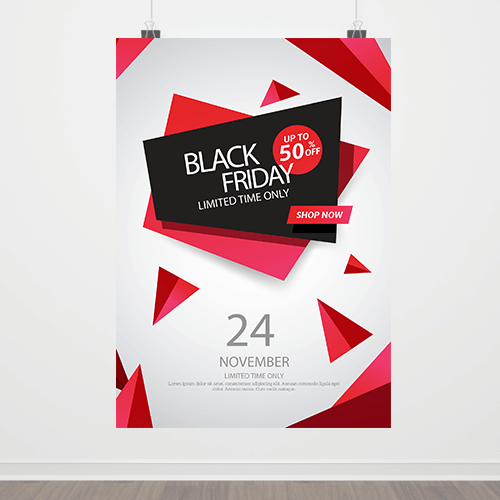19x27 - 100lb Gloss Text Posters 1 19x27 posters Gotopress - Canada Printshop