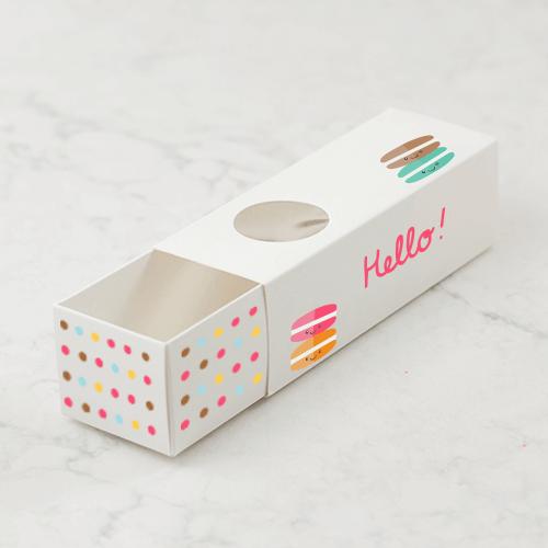 Custom Print 6 Macaron Box (Tuck & Fold) 1 6 Custom Print Macaron Box Tuck Fold Gotopress - Canada Printshop