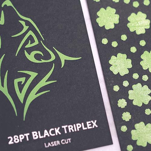 28pt Black Triplex Uncoated Hang Tags 6 28pt Black Triplex Uncoated Hang Tags Gotopress - Canada Printshop