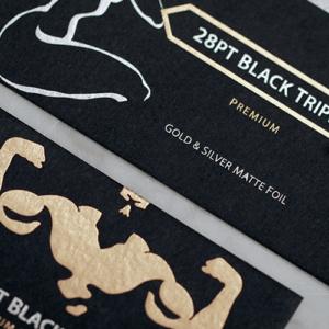 28pt Black Triplex Uncoated Hang Tags 1 28pt Black Triplex Uncoated Hang Gotopress - Canada Printshop