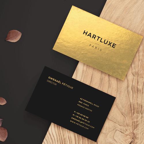 34pt Black Premium Gold Business Card 1 34pt Uncoated Gold Business Cards Gotopress Gotopress - Canada Printshop